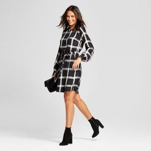 a new day ✨ Plaid Shine Shift Dress + Pockets!